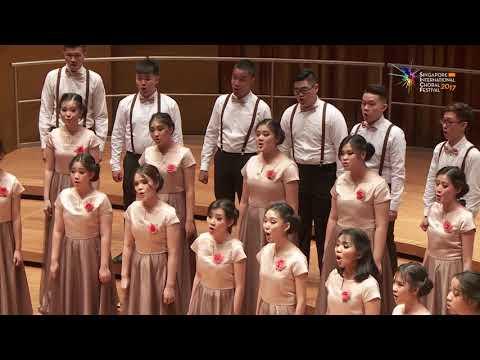 Il Bianco e Dolce Cigno (Arcadelt) - St. Louis High School Choir Indonesia