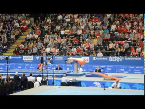 Championnats d'Europe Senior 2016 - Luka van den Keybus - saut (qualifications)