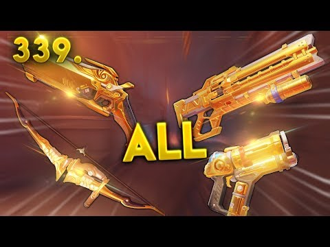 HE HAS ALL GOLDEN WEAPONS..   Overwatch Daily Moments Ep. 339 (Funny and Random Moments)