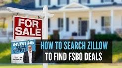 Wholesaling Real Estate | How To Search Zillow To Find For Sale By Owner Deals