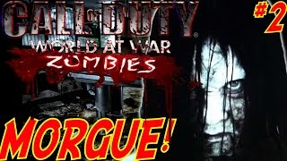 """""""MAP GETS SCARIER!"""" (HORROR MAP) - Custom Zombies """"MORGUE"""" FINALE (CoD WaW Custom Zombies)"""