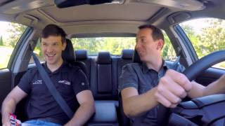 Riding with Kyle Busch – Daniel Suarez
