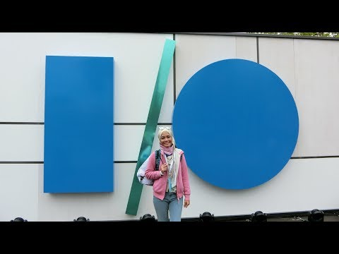 IO 2017 : Googleplex, Conference Bike, Android Candy Garden & Google Store