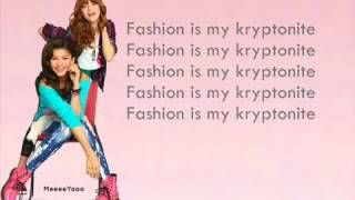 Bella Thorne ft Zendaya - Fashion Is My Kryptonite LYRICS
