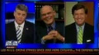 Sean Hannity and Tucker Carlson Battle James Carville for Defending Obama on Obamacare - 10/30/13