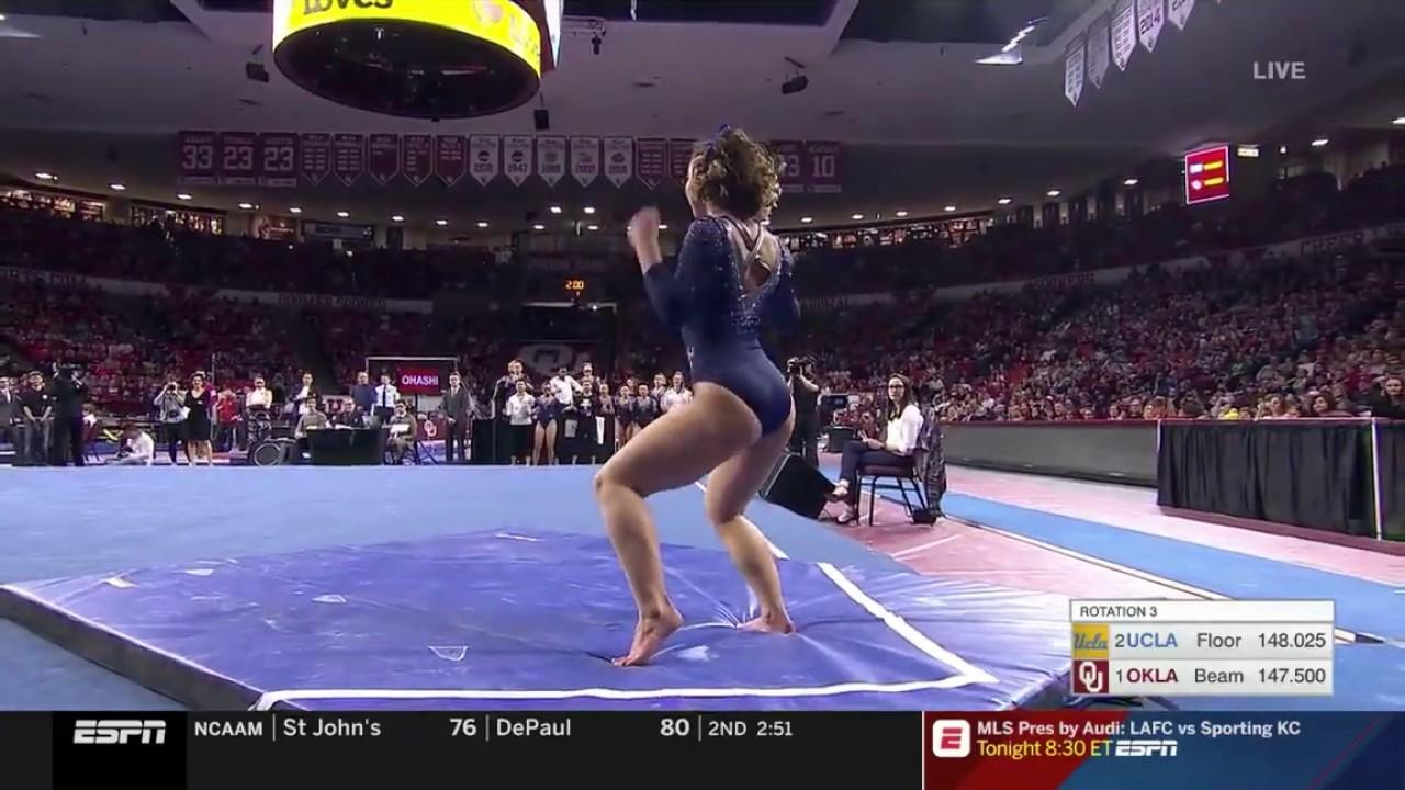 UCLA gymnast Katelyn Ohashi wows with latest perfect 10