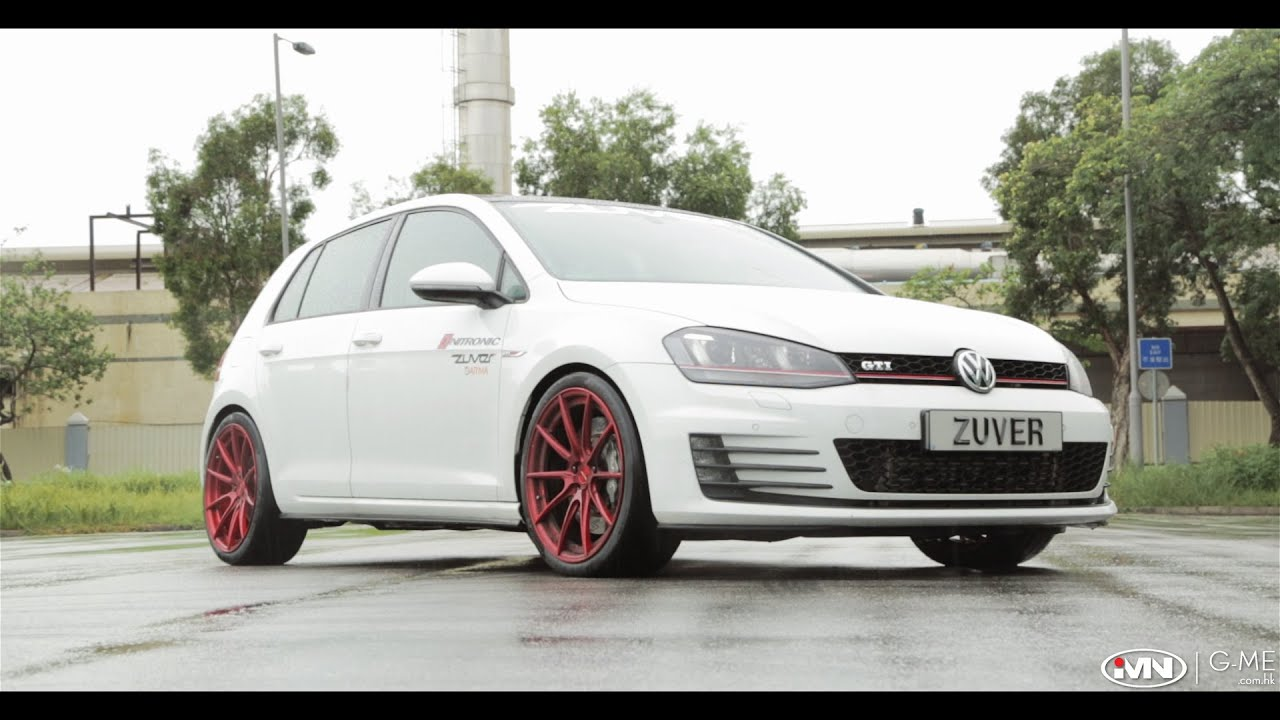vw golf gti 7 st rme powered by zuver tuning part 2 youtube. Black Bedroom Furniture Sets. Home Design Ideas