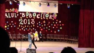 Alexandra si Sebi Balul Bobocilor Otelu-Rosu 2013