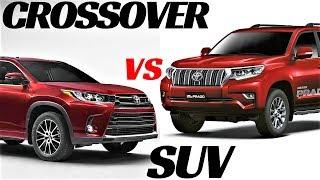 SUV VS CROSSOVER ! HIGHLANDER VS LAND CRUISER PRADO !