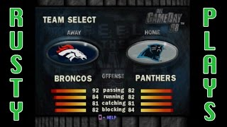 NFL GameDay 98 - SUPER BOWL 50 (BRONCOS vs PANTHERS) 2016