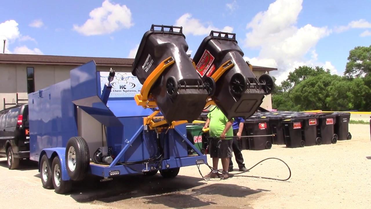 Trash Bin Cleaning Systems Wheelie Bin Cleaning Systems