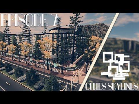 Cities Skylines: Alexandria | Episode 7 | Uptown Promenade