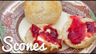 English Cream Tea: Home-made Scones - Crumbs
