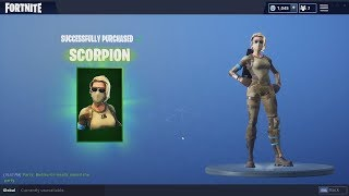 Fortnite *NEW* Skin Gameplay! (Armadillo and Scorpion!)