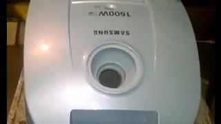 Samsung vakuum ta'mirlash. Qaysi siz emas, albatta, ayyor bilaman
