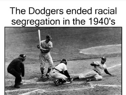 jackie robinson breaking baseballs color In 1947, the dodgers called robinson up to the  to openly break the major league baseball color line.