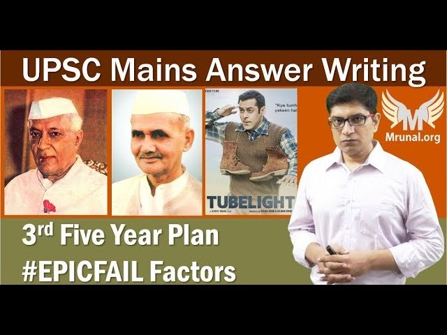Post-Independence Five-Year Plan Derailment Factors: UPSC Mains Answer Writing (GSM1)