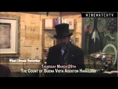 The Count of Buena Vista Agoston Haraszthy - click image for video