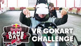 Red Bull Game Date - VR GoKart Challenge with Celo & Abdi
