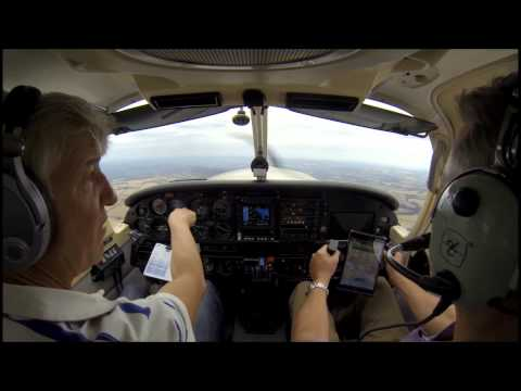 PA32R Saratoga, G-HDEW Thruxton (EGHO) to Bembridge (EGHJ) GoPro Hero 3 HD