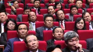 Đ/C Tạ Ngọc Tấn Ủy viên TW Đảng, Giám đốc Học viện CT_HC Quốc gia HCM phát biểu tại Đại hội XII