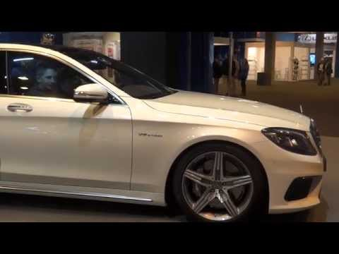 Mercedes-Benz S 63 AMG 4MATIC at Madrid Motor Show 2014 | AutoMotoTV