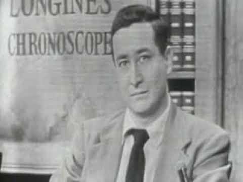 TELEVISION INTERVIEW: William Bradford Huie and Karl Hess talk (Description)