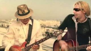 "carlos santana ft chad kroeger  "" into the night"""