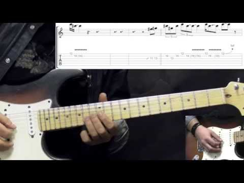 Gary Moore - The Sky Is Crying Part2 - Blues Guitar Lesson (w/Tabs)