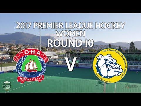 OHA v North West Grads | Women Round 10 | Premier League Hockey 2017