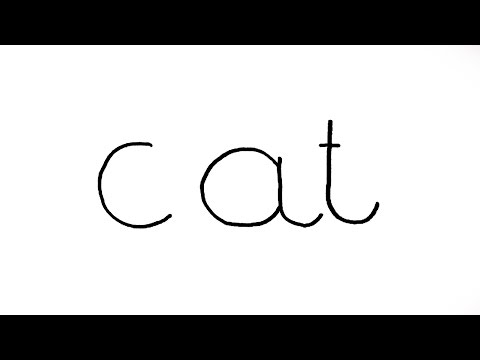How to Turn Words Cat Into a Cartoon Cat (Wordtoons)