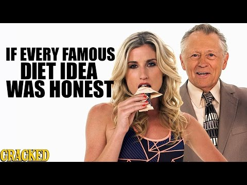 If Every Famous Diet Idea Was Honest - Honest Ads