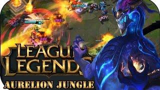 AURELION SOL JUNGLE   League of Legends Gameplay deutsch