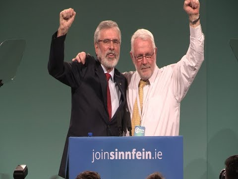 Gerry Adams historic speech to Sinn Féin Ard Fheis