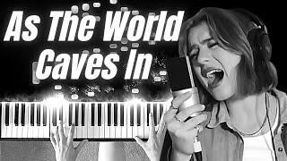 As The World Caves In Sarah Cothran - Virtuoso Piano Cover
