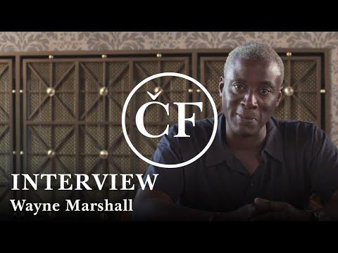 Wayne Marshall: interview (Česká filharmonie)