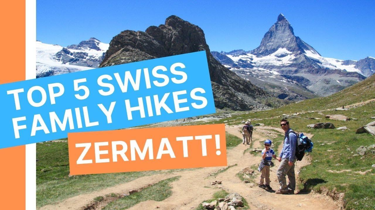 Top 5 family hikes in Zermatt Switzerland • All Matterhorn ...