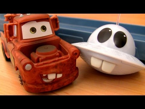 UFO Cars Toon Unidentified Flying Mater Track Playset Mater's Tall Tales with Mator by Blucollection