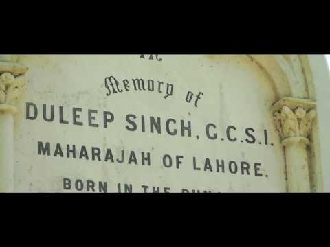 The Grave of Maharajah Duleep Singh