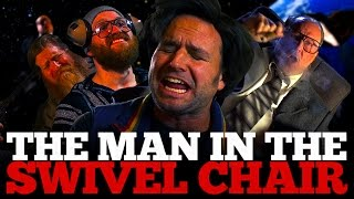 The Man in the Swivel Chair