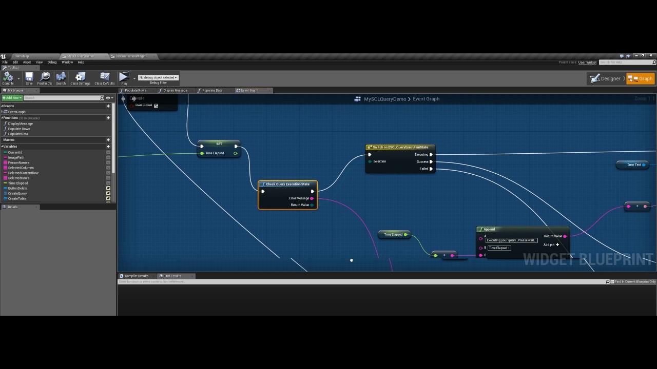 Mysql integration for unreal engine 4 youtube mysql integration for unreal engine 4 malvernweather Gallery