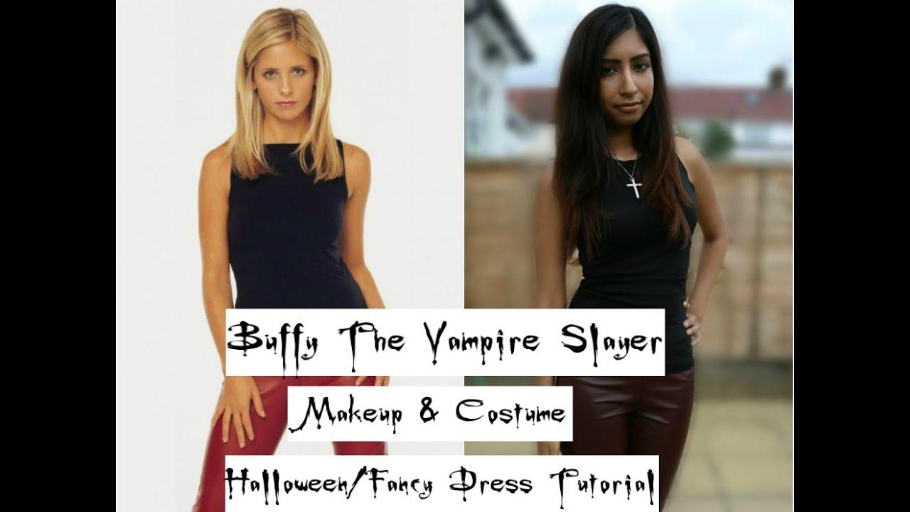 Buffy The Vampire Slayer Makeup & Costume Tutorial | Bhavna Nina ...