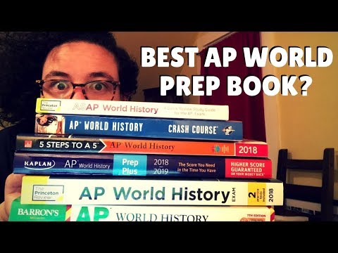 Best AP World Prep Book: Princeton vs Barron's