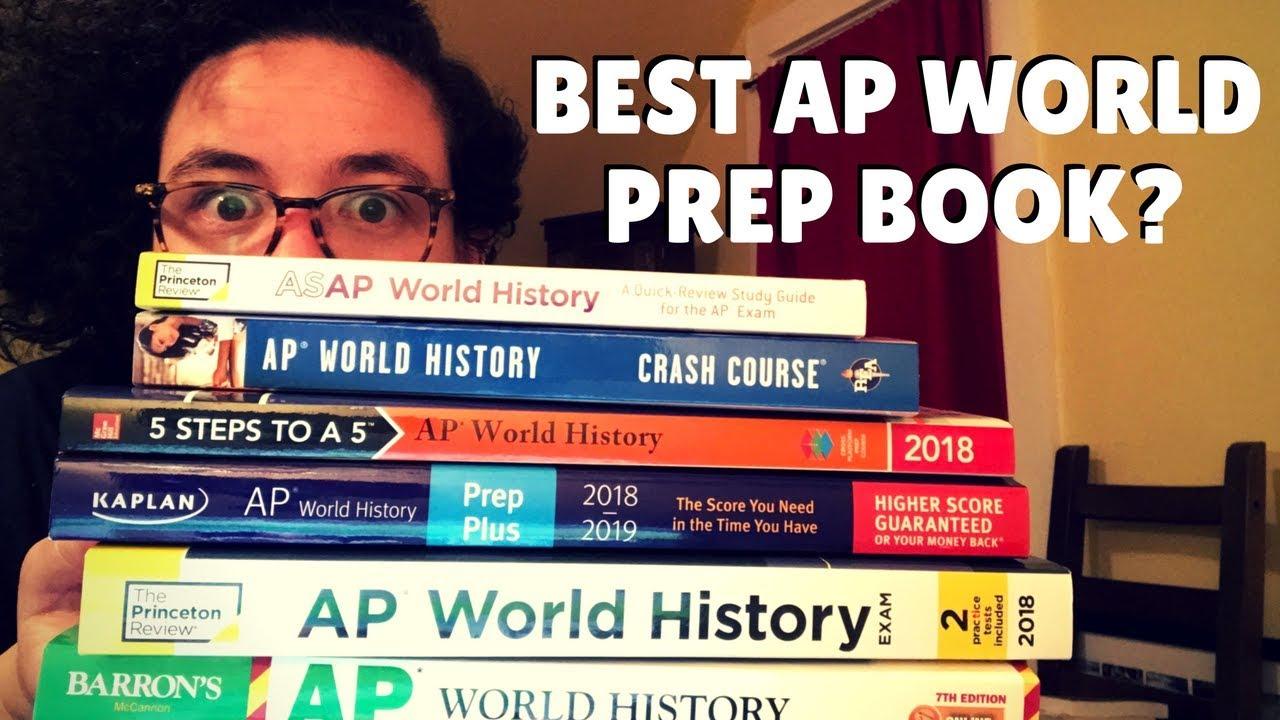 Best Ap World Prep Book Princeton Vs Barron S Youtube