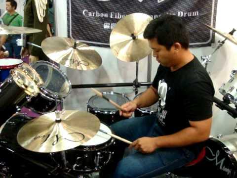 Ming Drum 2010 台北樂器展實況十四.MPG