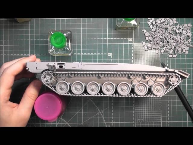 Сборка T-14 Armata. Часть 1