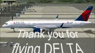 Delta flight 82 from Tokyo to Guam (FS2004)