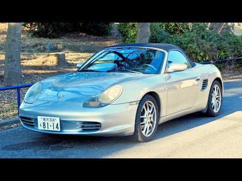 2003 Porsche Boxster 5-speed (Canada Import) Japan Auction Purchase Review