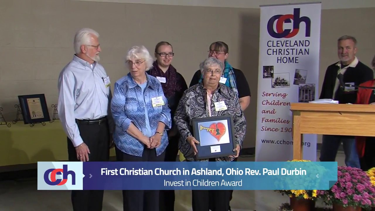 Cleveland Christian Home Honors First Christian Church Of Ashland Oh 2013 Invest In Children Award
