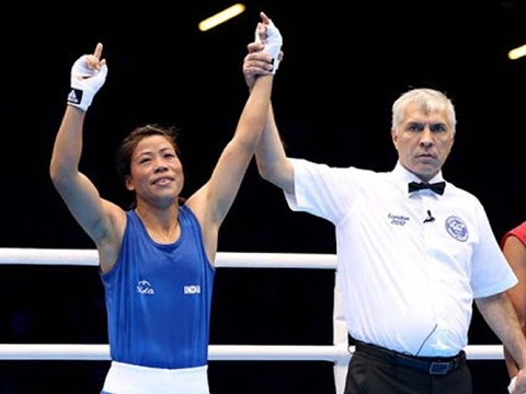 Mary Kom's Interview After Winning Bronze in 2012 London Olympics